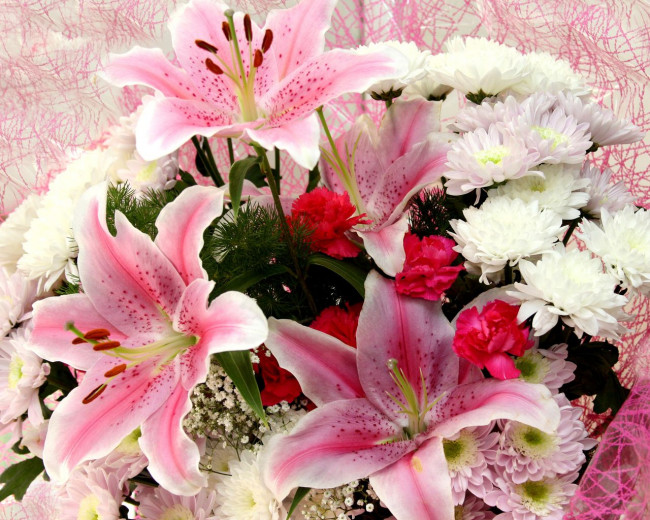 Открытки с лилиями для любимой